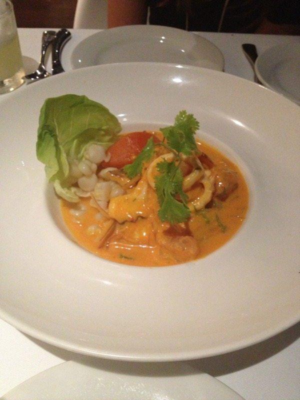 peruvian gastronomy spicy ceviche