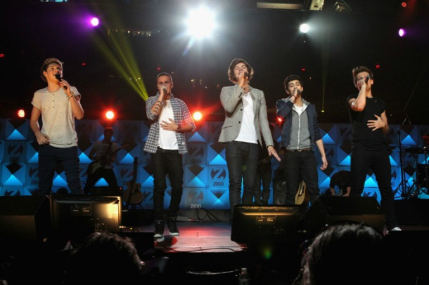One Direction Jingle Ball 2012