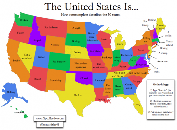 15 Maps that Will Change the Way You Look at the US Travel Freak
